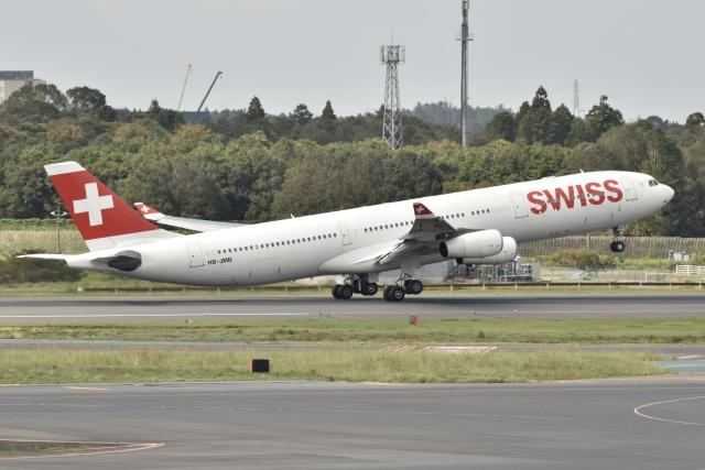 N.tomoさんが、成田国際空港で撮影したスイスインターナショナルエアラインズ A340-313Xの航空フォト(飛行機 写真・画像)