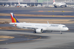 sakaki787さんが、羽田空港で撮影したフィリピン航空 A321-271Nの航空フォト(飛行機 写真・画像)