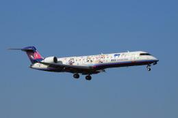 飛行機ゆうちゃんさんが、成田国際空港で撮影したアイベックスエアラインズ CL-600-2C10 Regional Jet CRJ-702ERの航空フォト(飛行機 写真・画像)
