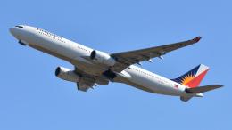 saoya_saodakeさんが、成田国際空港で撮影したフィリピン航空 A330-343Xの航空フォト(飛行機 写真・画像)