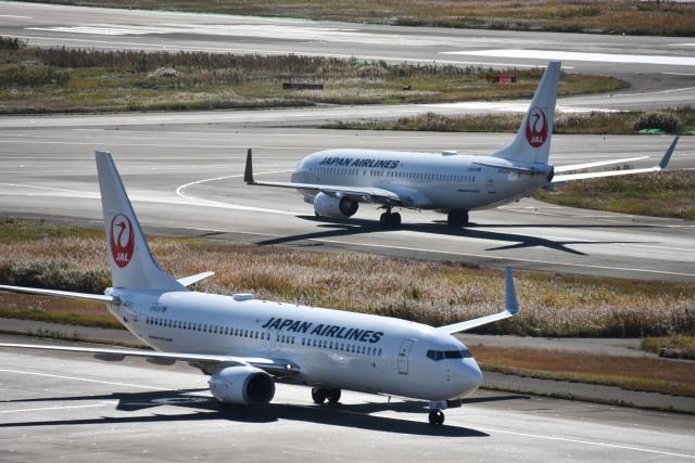 しゅんてぃーさんが、羽田空港で撮影した日本航空 737-846の航空フォト(飛行機 写真・画像)