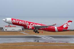 yabyanさんが、中部国際空港で撮影したタイ・エアアジア・エックス A330-343Eの航空フォト(飛行機 写真・画像)