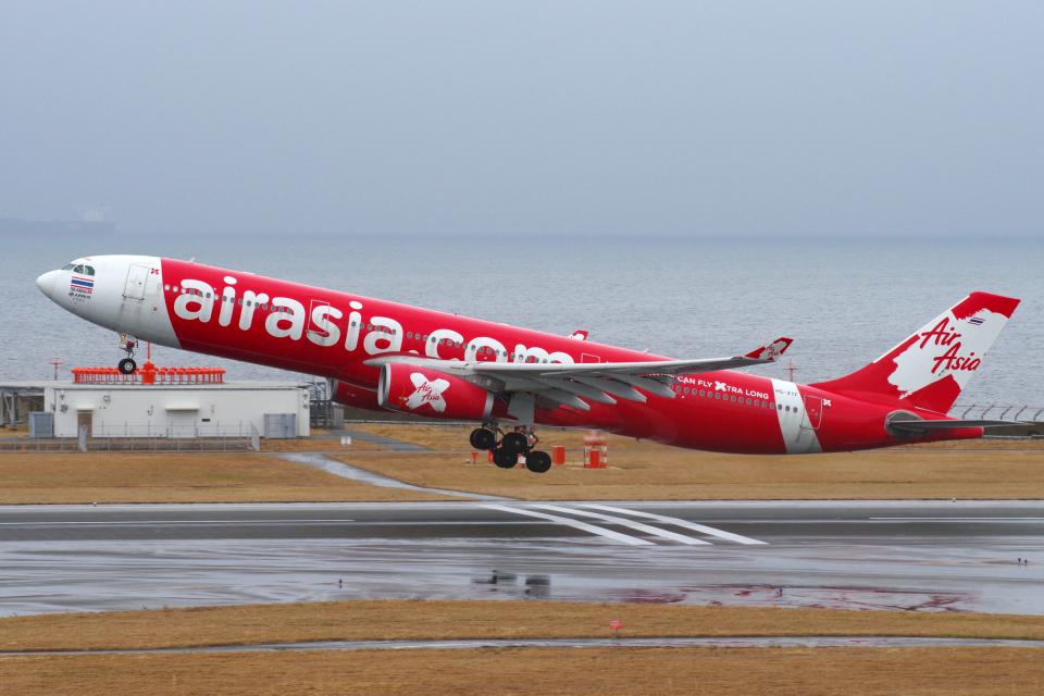 yabyanさんのタイ・エアアジア・エックス Airbus A330-300 (HS-XTF) 航空フォト