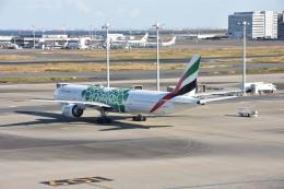 しゅんてぃーさんが、羽田空港で撮影したエミレーツ航空 777-31H/ERの航空フォト(飛行機 写真・画像)