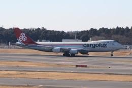 ショウさんが、成田国際空港で撮影したカーゴルクス 747-8R7F/SCDの航空フォト(飛行機 写真・画像)