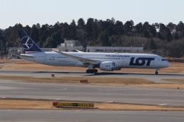 ショウさんが、成田国際空港で撮影したLOTポーランド航空 787-9の航空フォト(飛行機 写真・画像)