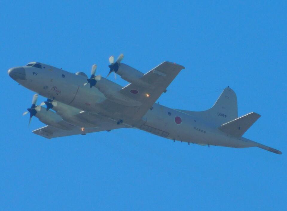 さんまるエアラインさんの海上自衛隊 Kawasaki P-3C Orion (5099) 航空フォト