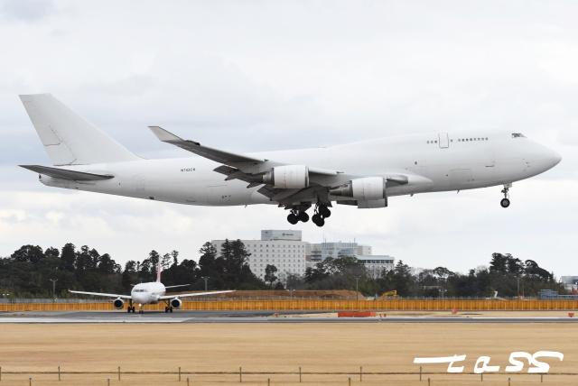 tassさんが、成田国際空港で撮影したカリッタ エア 747-446(BCF)の航空フォト(飛行機 写真・画像)