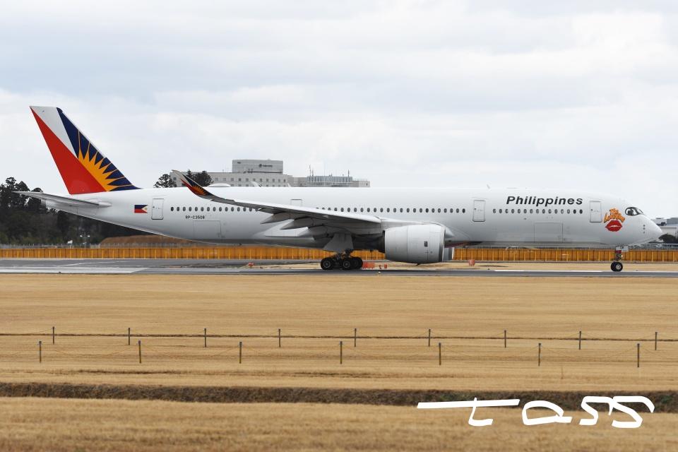 tassさんのフィリピン航空 Airbus A350-900 (RP-C3508) 航空フォト