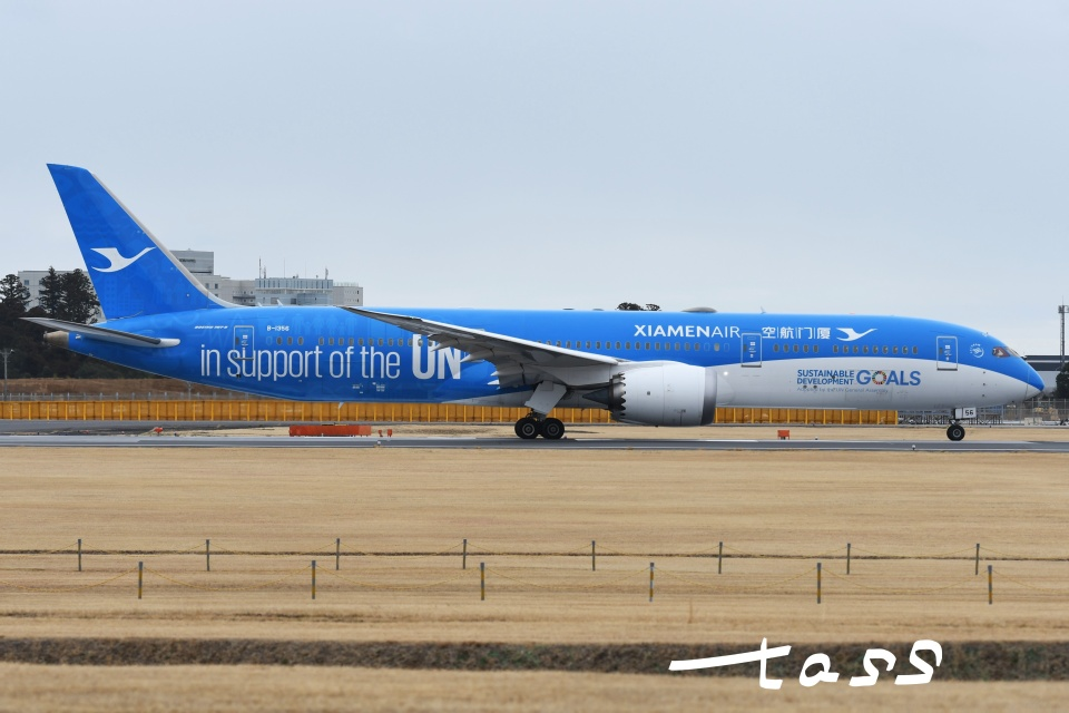 tassさんの厦門航空 Boeing 787-9 (B-1356) 航空フォト