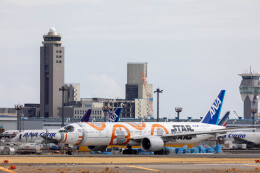 Kaaazさんが、成田国際空港で撮影した全日空 777-381/ERの航空フォト(飛行機 写真・画像)