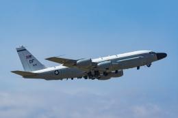 Mochi7D2さんが、横田基地で撮影したアメリカ空軍 RC-135W (717-158)の航空フォト(飛行機 写真・画像)