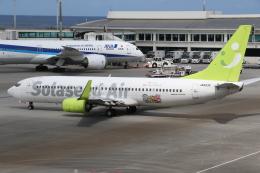 ゴンタさんが、那覇空港で撮影したソラシド エア 737-86Nの航空フォト(飛行機 写真・画像)
