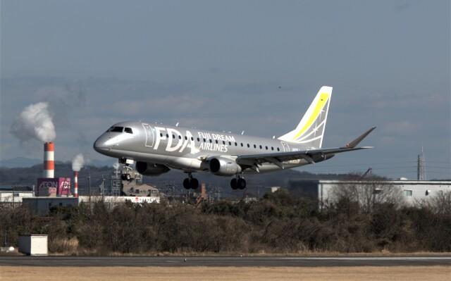 jp arrowさんが、名古屋飛行場で撮影したフジドリームエアラインズ ERJ-170-200 (ERJ-175STD)の航空フォト(飛行機 写真・画像)
