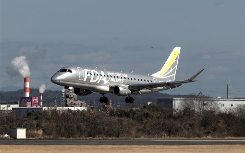 jp arrowさんのフジドリームエアラインズ Embraer 175 (JA10FJ) 航空フォト