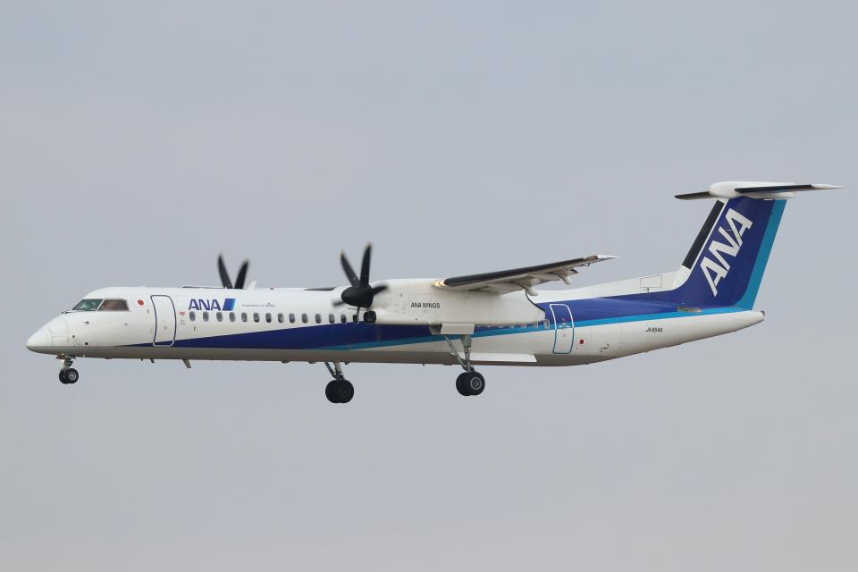 kunimi5007さんのANAウイングス Bombardier DHC-8-400 (JA854A) 航空フォト