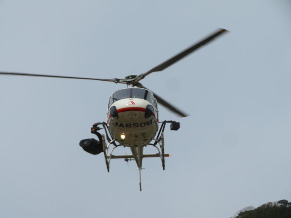 チダ.ニックさんの朝日航洋 Eurocopter AS350 Ecureuil/AStar (JA6508) 航空フォト