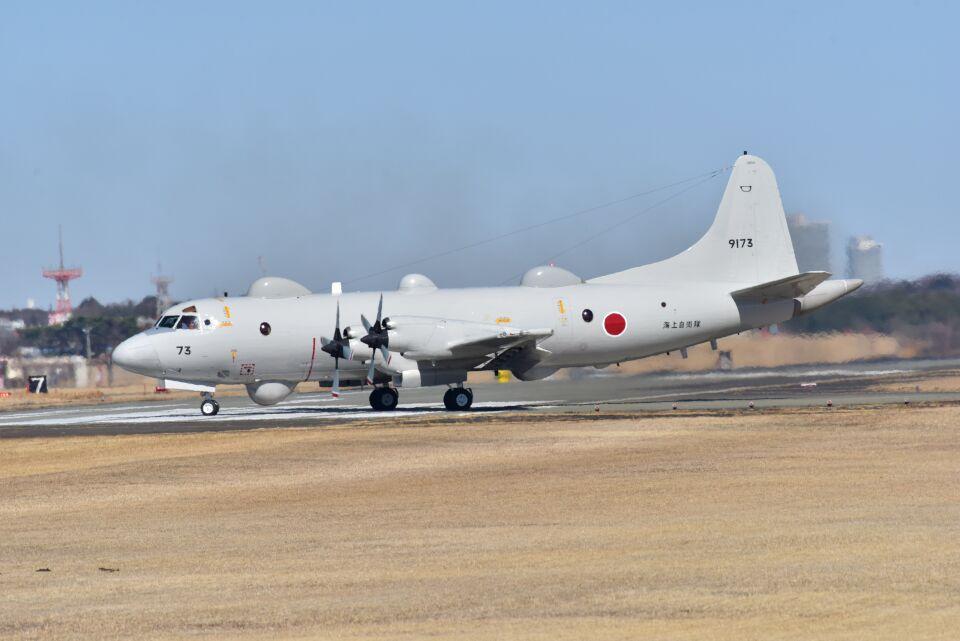 kotaちゃんさんの海上自衛隊 Kawasaki P-3C Orion (9173) 航空フォト