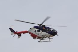 ショウさんが、名古屋飛行場で撮影した岐阜県防災航空隊 BK117C-2の航空フォト(飛行機 写真・画像)