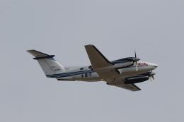 ショウさんが、名古屋飛行場で撮影した中日本航空 B200 Super King Airの航空フォト(飛行機 写真・画像)