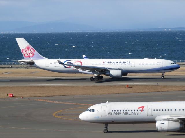F.YUKIHIDEさんが、中部国際空港で撮影したチャイナエアライン A330-302の航空フォト(飛行機 写真・画像)