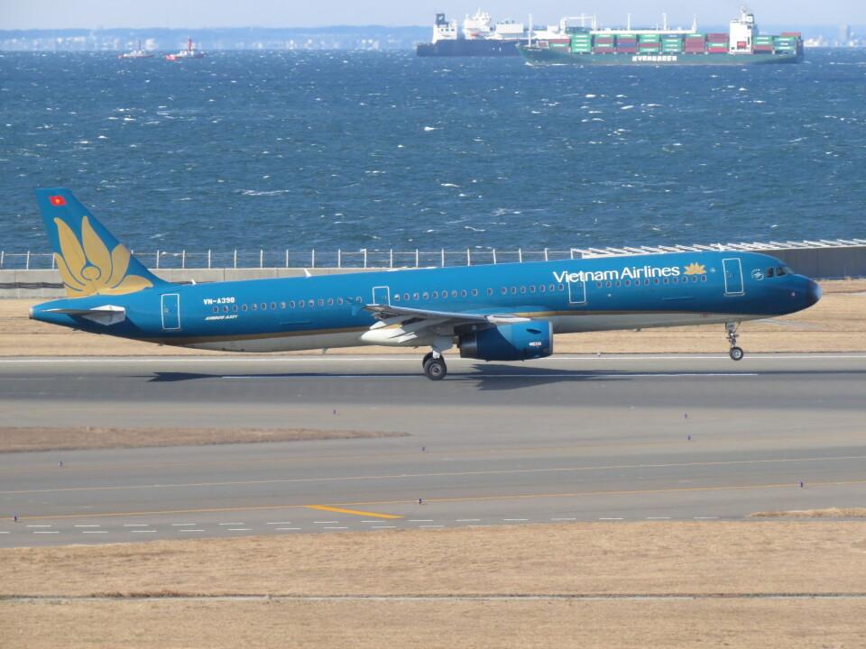 F.YUKIHIDEさんのベトナム航空 Airbus A321 (VN-A398) 航空フォト