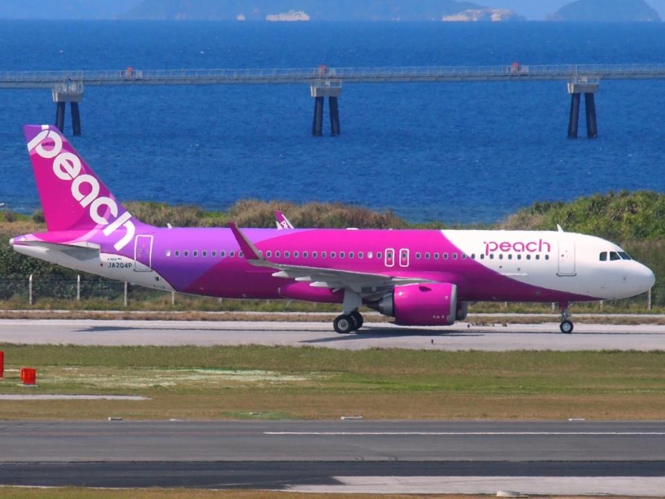 FT51ANさんのピーチ Airbus A320neo (JA204P) 航空フォト