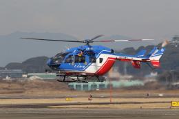 ショウさんが、名古屋飛行場で撮影した大分県防災航空隊 BK117C-2の航空フォト(飛行機 写真・画像)