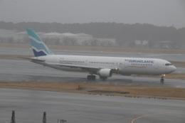 ショウさんが、成田国際空港で撮影したユーロアトランティック・エアウェイズ 767-34P/ERの航空フォト(飛行機 写真・画像)