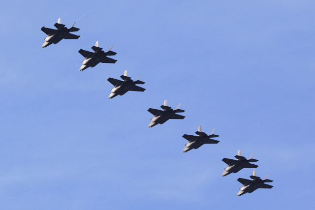 MH-38Rさんが、三沢飛行場で撮影した航空自衛隊 F-35A Lightning IIの航空フォト(飛行機 写真・画像)