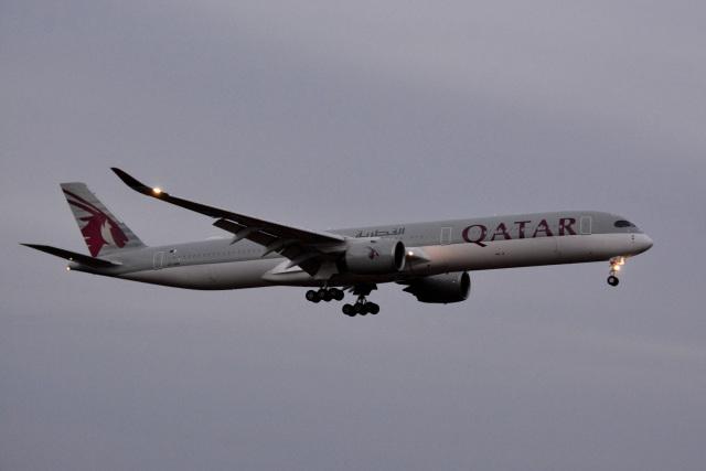 アルビレオさんが、成田国際空港で撮影したカタール航空 A350-1041の航空フォト(飛行機 写真・画像)