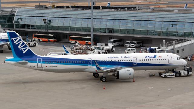 tkosadaさんが、羽田空港で撮影した全日空 A321-272Nの航空フォト(飛行機 写真・画像)