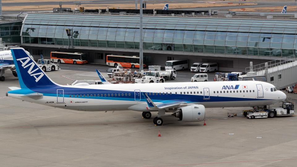 tkosadaさんの全日空 Airbus A321neo (JA149A) 航空フォト