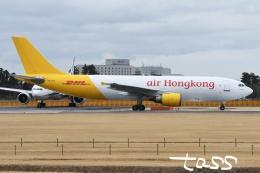 tassさんが、成田国際空港で撮影したエアー・ホンコン A300F4-605Rの航空フォト(飛行機 写真・画像)