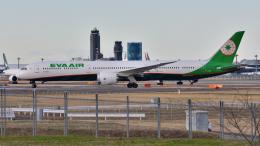 saoya_saodakeさんが、成田国際空港で撮影したエバー航空 787-10の航空フォト(飛行機 写真・画像)