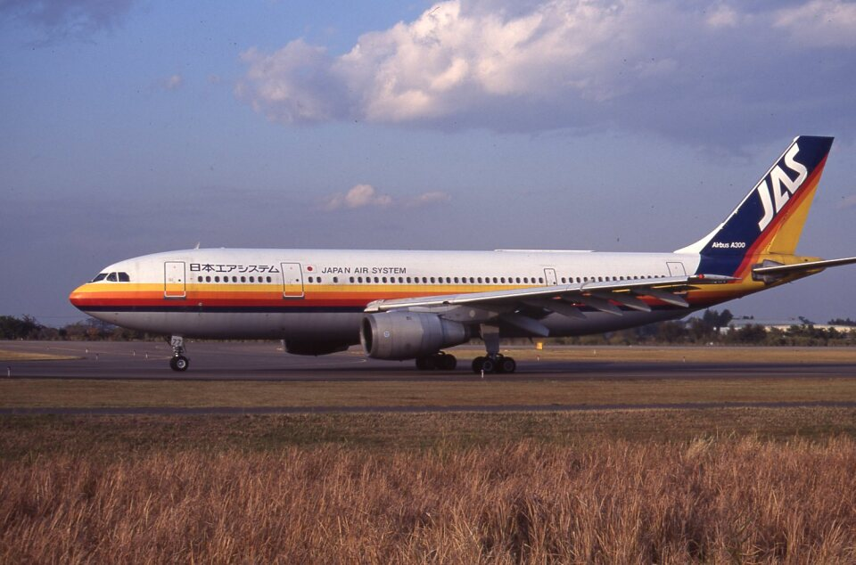 kumagorouさんの日本エアシステム Airbus A300B2 (JA8477) 航空フォト