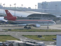yossiさんが、関西国際空港で撮影したノースウエスト航空 DC-10-30の航空フォト(飛行機 写真・画像)