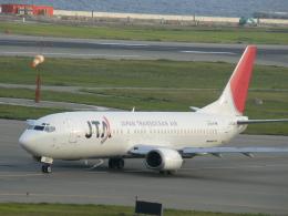 yossiさんが、関西国際空港で撮影した日本トランスオーシャン航空 737-4Q3の航空フォト(飛行機 写真・画像)