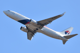 saoya_saodakeさんが、成田国際空港で撮影したマレーシア航空 737-8H6の航空フォト(飛行機 写真・画像)