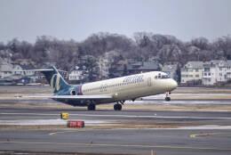 Airliners Freakさんが、ジェネラル・エドワード・ローレンス・ローガン国際空港で撮影したエアトラン航空 DC-9-32の航空フォト(飛行機 写真・画像)