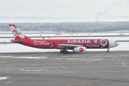 Deepさんが、新千歳空港で撮影したエアアジア・エックス A330-343Xの航空フォト(飛行機 写真・画像)