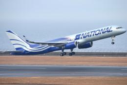 jun☆さんが、中部国際空港で撮影したナショナル・エアラインズ 757-223の航空フォト(飛行機 写真・画像)
