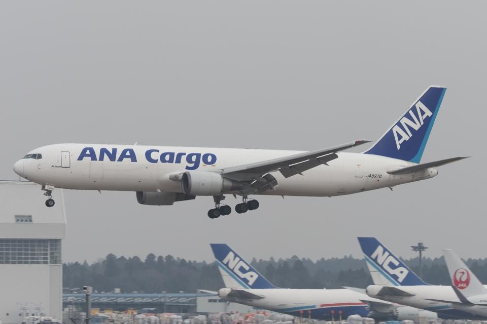 木人さんの全日空 Boeing 767-300 (JA8970) 航空フォト