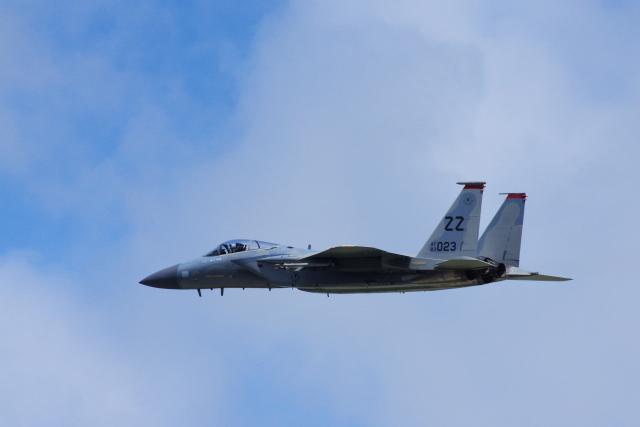 ぼくちゃんさんが、嘉手納飛行場で撮影したアメリカ空軍 F-15C-35-MC Eagleの航空フォト(飛行機 写真・画像)