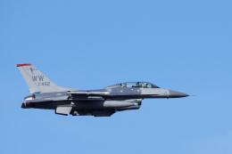 ぼくちゃんさんが、三沢飛行場で撮影したアメリカ空軍 F-16DM-50-CF Fighting Falconの航空フォト(飛行機 写真・画像)