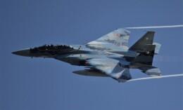 こびとさんさんが、小松空港で撮影した航空自衛隊 F-15DJ Eagleの航空フォト(飛行機 写真・画像)