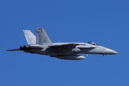 ぼくちゃんさんが、厚木飛行場で撮影したアメリカ海軍 F/A-18E Super Hornetの航空フォト(飛行機 写真・画像)