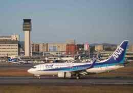 平凡なおっちゃんさんが、伊丹空港で撮影した全日空 737-781の航空フォト(飛行機 写真・画像)
