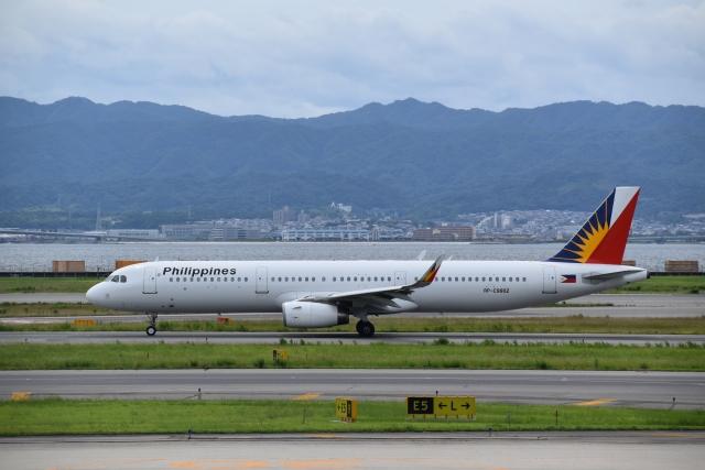 hachiさんが、関西国際空港で撮影したフィリピン航空 A321-231の航空フォト(飛行機 写真・画像)