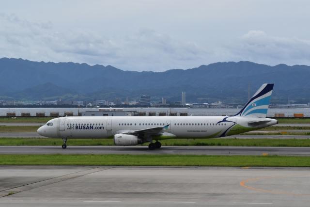 hachiさんが、関西国際空港で撮影したエアプサン A321-131の航空フォト(飛行機 写真・画像)
